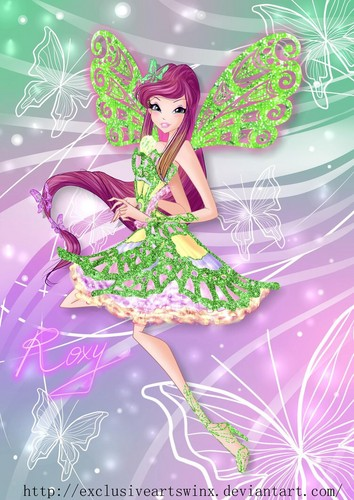 El Club Winx fondo de pantalla probably with anime called Roxy Butterflix