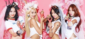 SISTAR – Concept bức ảnh For 'Shake It'