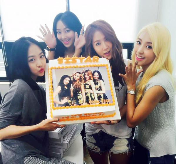 SISTAR celebrate their 5th anniversary