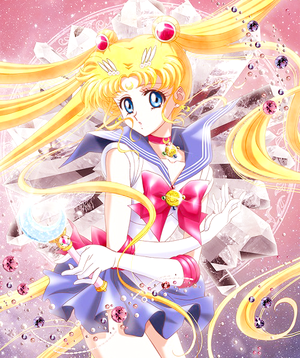 SMC ~ BR cover ~ Sailor Moon