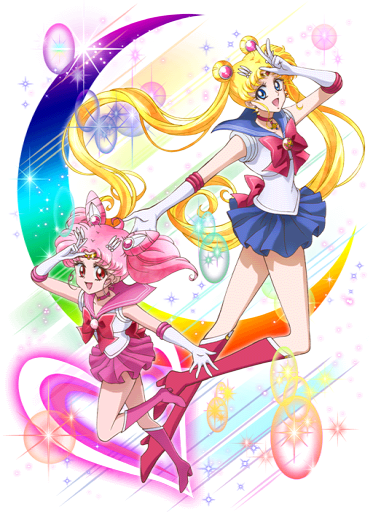 SMC ~ Sailor Moon and Chibimoon