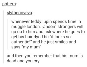 Sad HP Tumblr Posts