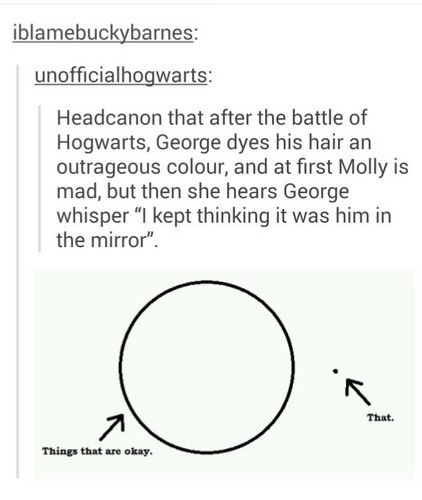 Harry Potter wolpeyper probably with a venn diagram called Sad HP Tumblr Posts