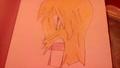 Sadness - anime-drawing photo