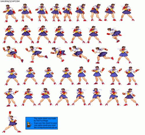 Video Games achtergrond entitled Sakura Sheet