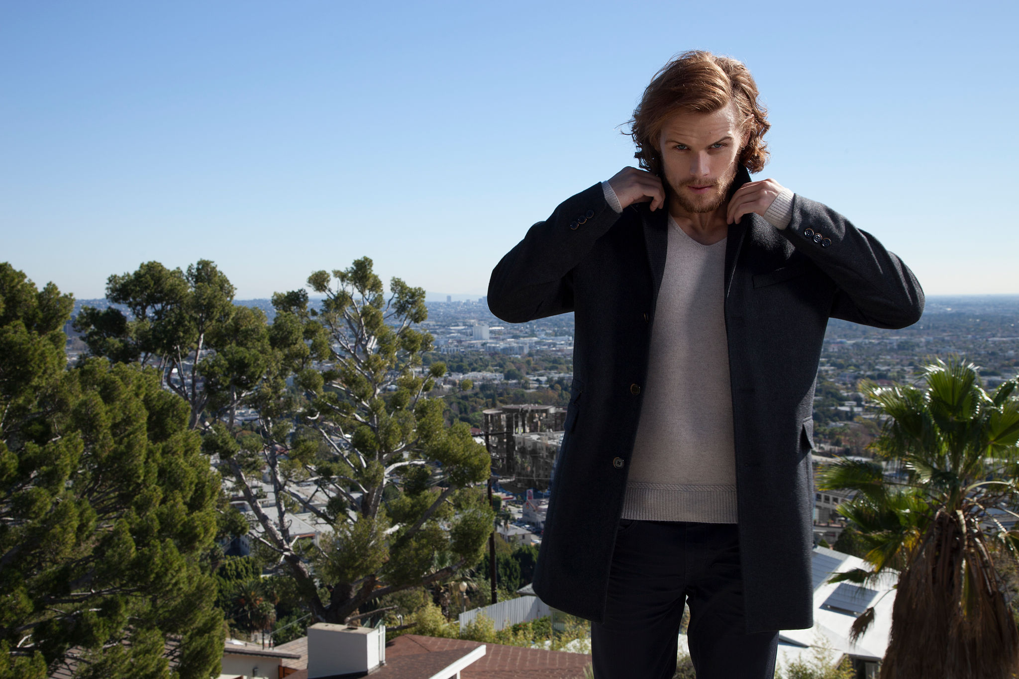 Sam Heughan in Emmy Magazine Photoshoot