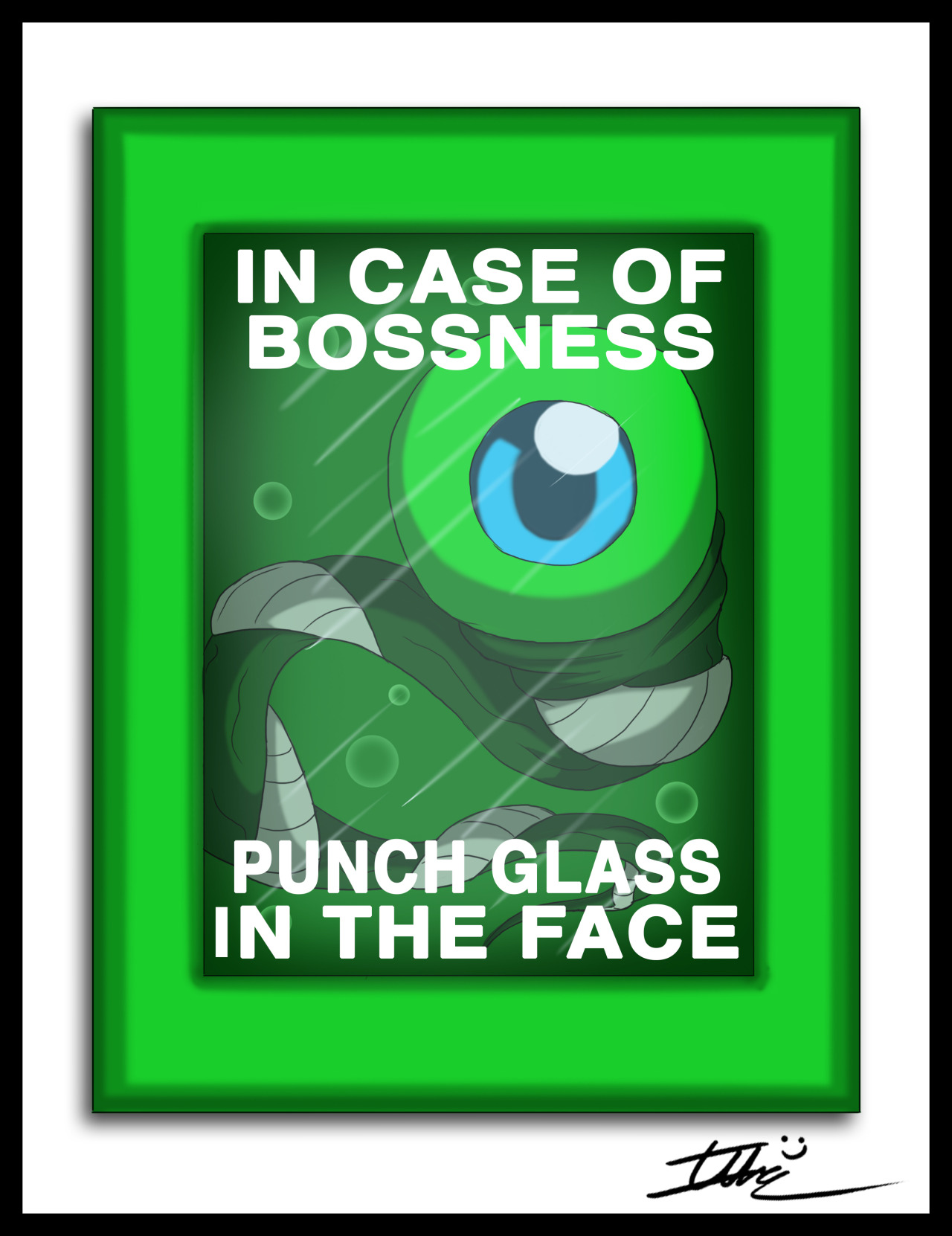jacksepticeye 壁纸possibly containing a venn diagram and a 录像带titled Incase of Bossness