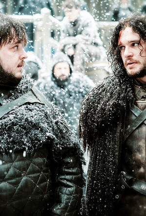 Samwell Tarly and Jon Snow