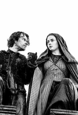 Sansa Stark and Theon Greyjoy