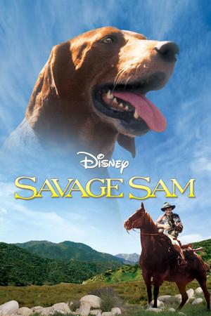 Savage Sam DVD Cover