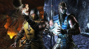schorpioen, scorpion and Sub-zero