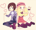 Serena y calm - serena-pokemon-xy photo