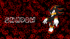 Shadow Sonic Channel Walpaper