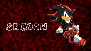 Shadow Sonic X wolpeyper