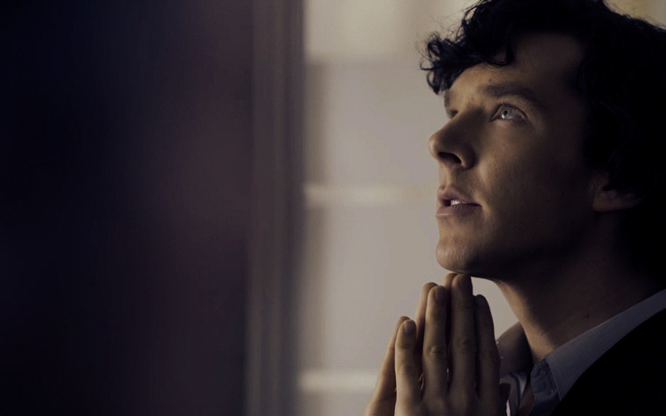 Sherlock thinking