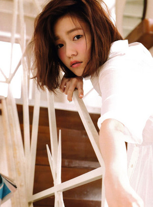 Shimazaki Haruka 「ENTAME」 July 2015