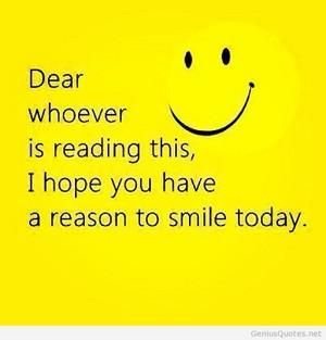 Smile.... :)