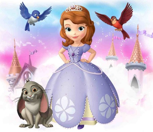 Sofia The First achtergrond entitled Sofia The First
