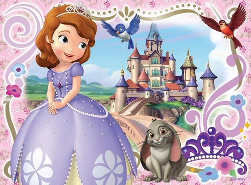 Sofia The First achtergrond called Sofia The First