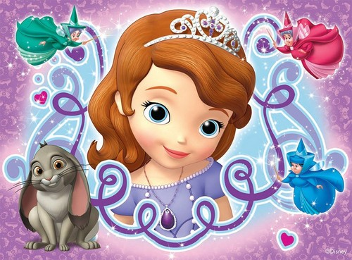 Sofia The First kertas dinding titled Sofia The First