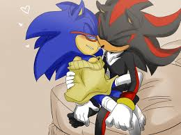 Sonic Yaoi karatasi la kupamba ukuta containing anime called Sonadow hug