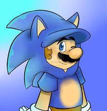 Sonic is mario