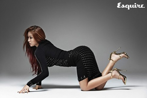 SISTAR (씨스타) hình nền with tights called Soyou 'Esquire'