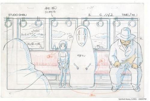 Hayao Miyazaki fondo de pantalla called Spirited Away Concept Art