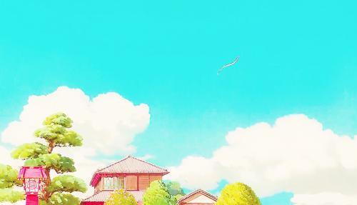 Studio Ghibli 壁纸 called Spirited Away Scenery