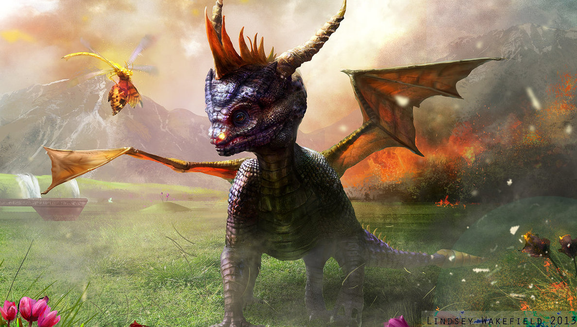 Spyro the Dragon: Fanart