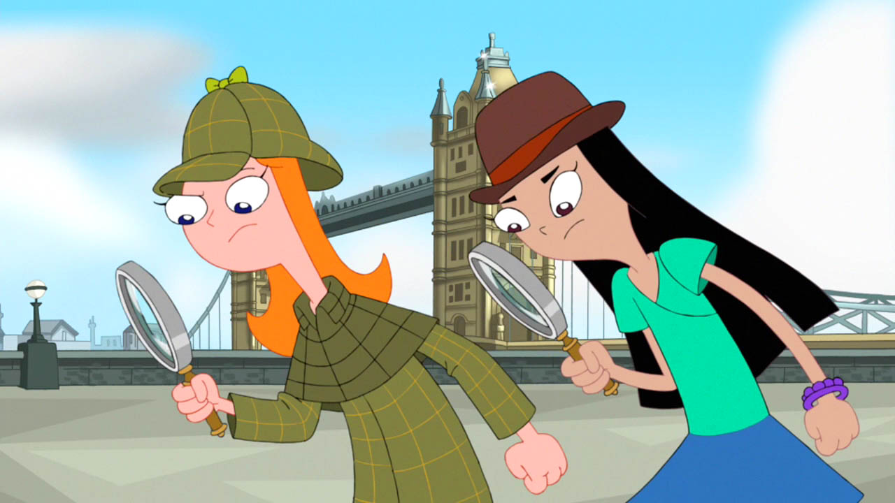 Stacy and Candace Look for Clues