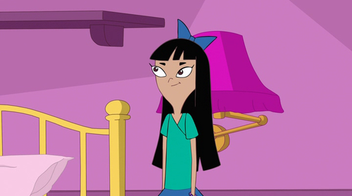 stacy from phineas & ferb wallpaper titled Stacy in Candace's Room