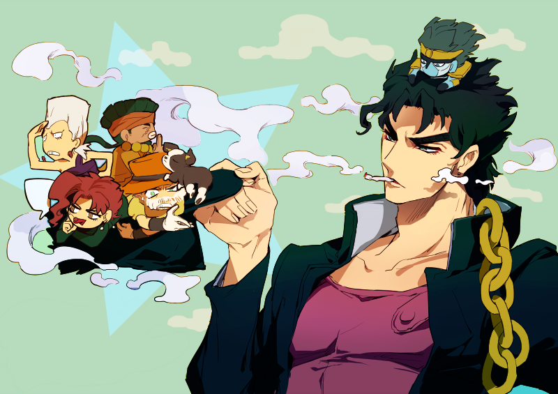 jojo s bizarre adventure images stardust crusaders hd wallpaper and