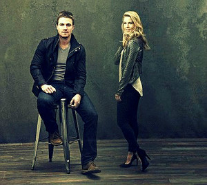 Stemily - Arrow Season 2 Promotional Shoots foto Blend