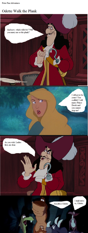 angsa, swan Princess Crossover comic