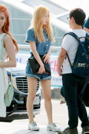 Taeyeon - Incheon Airport