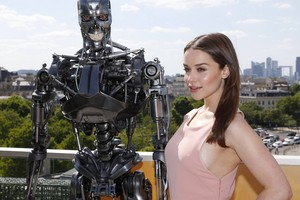 Terminator Genisys Paris Photocall