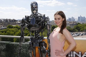 ターミネーター Genisys Paris Photocall