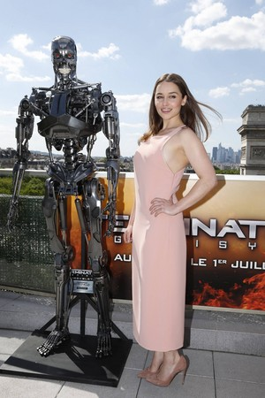 টারমিনেটর Genisys Paris Photocall