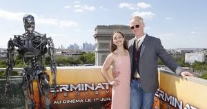 Terminator Genisys Paris Photocall