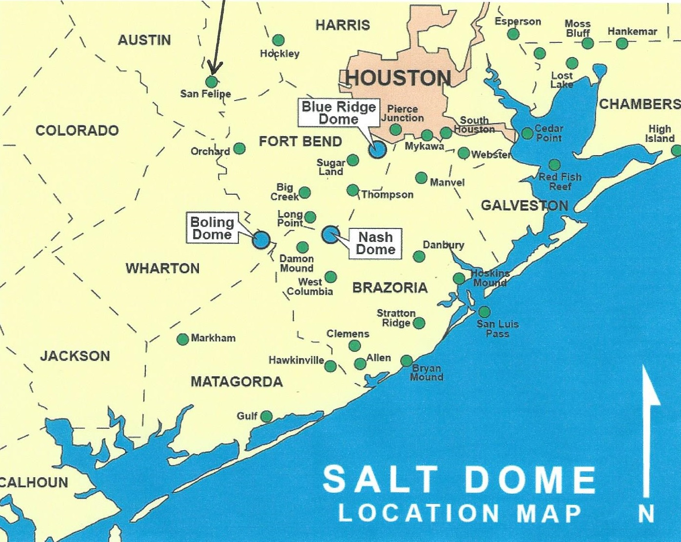 Texas Energy Exploration Llc Salt Dome Map Gulf Coast