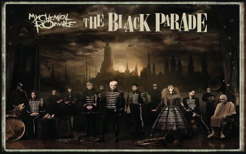 My Chemical Romance Hintergrund entitled The Black Parade