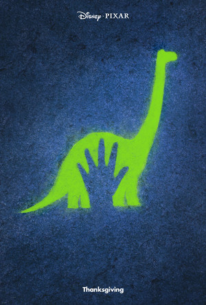 The Good Dinosaur Cave Painting Hand Print