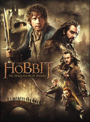 The Hobbit: The Desolation Of Smaug - Poster