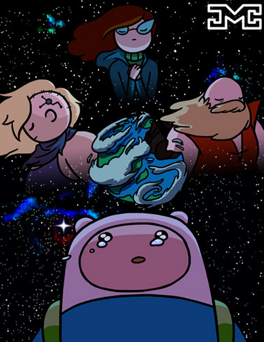 Adventure Time With Finn and Jake wolpeyper containing anime entitled The Last Humans On Earth
