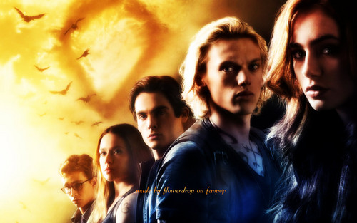 Shadowhunters wallpaper probably with a concerto entitled The Mortal Instruments wallpaper