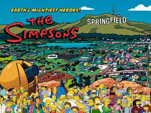 Avengers: Earth's Mightiest Герои Обои called The Simpsons: Earth's Mightiest Герои