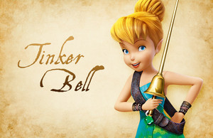 Tinker klok, bell Pirate fairy