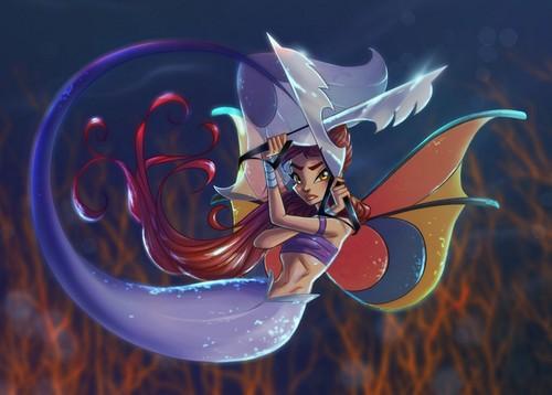 The Winx Club wallpaper titled Tressa the Mermaid