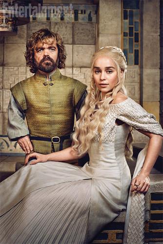 Tyrion Lannister wallpaper entitled Tyrion Lannister and Daenerys Targaryen